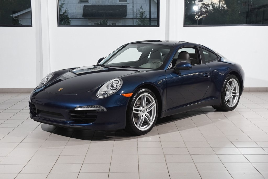 Certified Pre-Owned 2012 Porsche 911 Carrera
