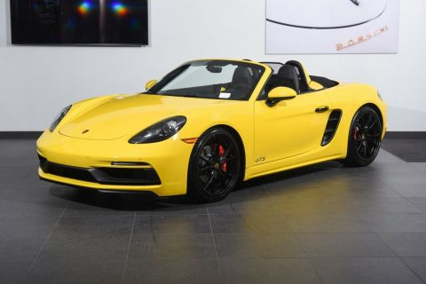 Pre-Owned 2018 Porsche 718 Boxster 718 Boxster GTS